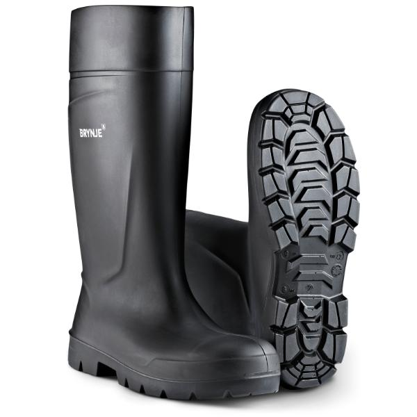 BRYNJE 1014 Solid PU boot. Lightweight, sturdy and flexible