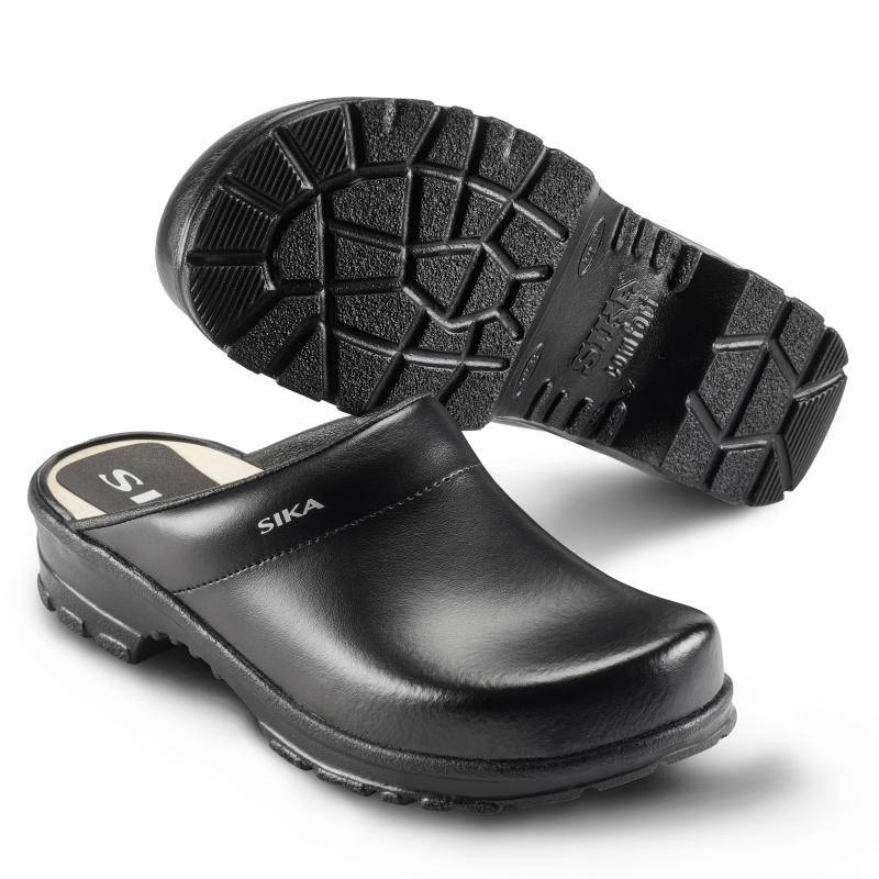 SIKA 149 Comfort. Sturdy clog Footbed of wood