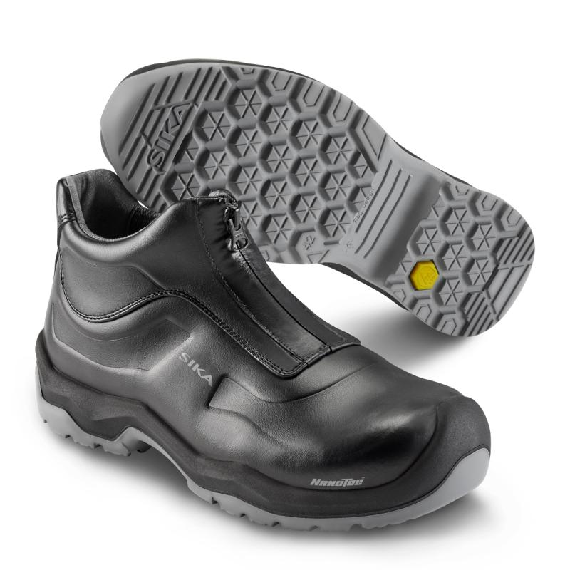 SIKA 202510 Front safety low boot. Slip resistant! Shock absorbing!