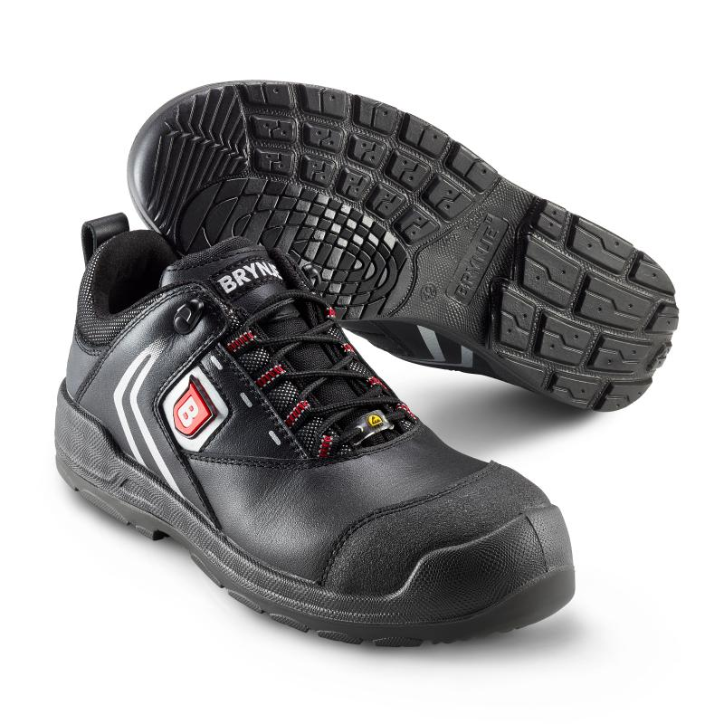 BRYNJE 334 Shelter safety shoe. All-round, durable and breathable