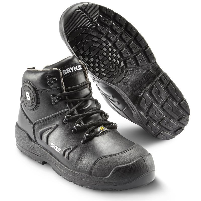 BRYNJE 338 Hill safety bootee. Winter lining and waterproof