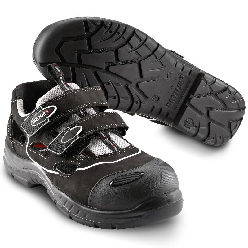 BRYNJE 358 Free Style safety sandal. Lightweight and breathable