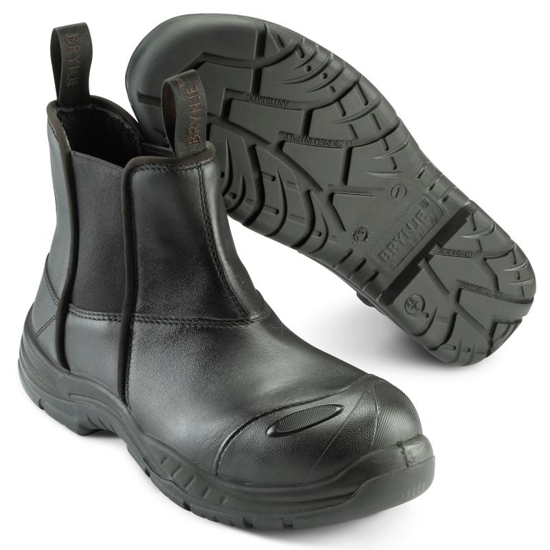 BRYNJE 369 Tasmania safety low boot. Breathable and durable leather