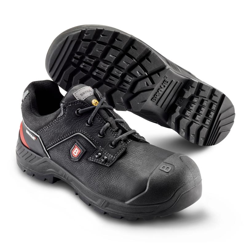 BRYNJE 411 Robust. Safety shoe - wide fit