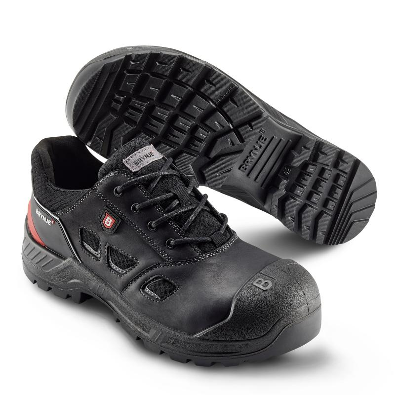BRYNJE 415 Highway safety shoe. Extra breathable and wide fit