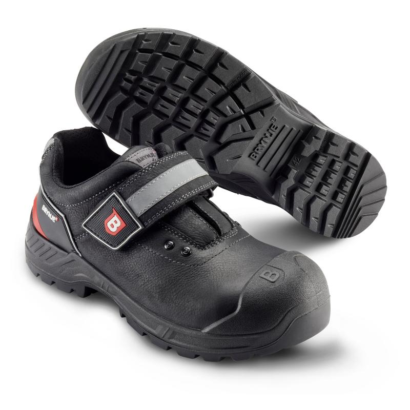 BRYNJE 421 Advantage. Safety shoe. Velcro® closure