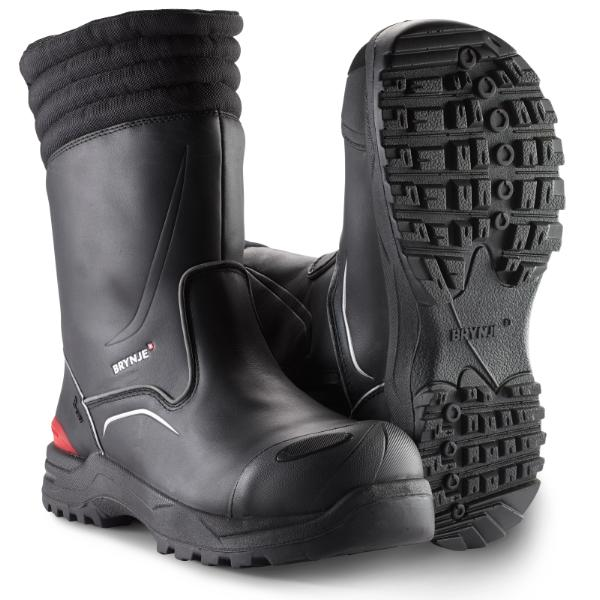 BRYNJE 484 B-Dry safety boot with winter lining and inside zip