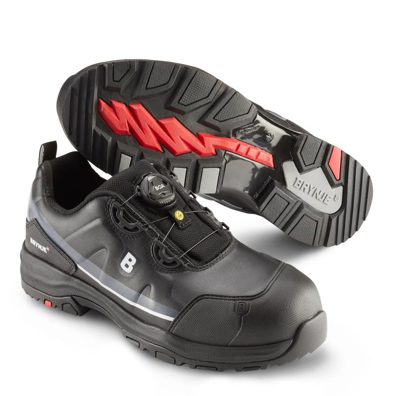BRYNJE 649 Drizzle safety shoe. Lightweight, durable and with Boa® Fit System