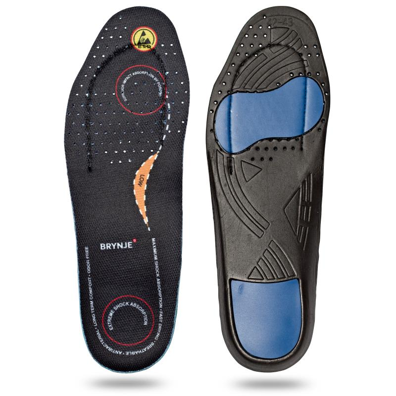 BRYNJE 68201 Ultimate Footfit. Inlay sole for feet with a low arch