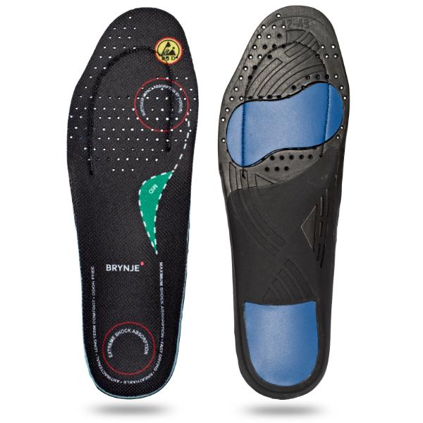 BRYNJE 68202 Ultimate Footfit. Sole for feet with a medium arch
